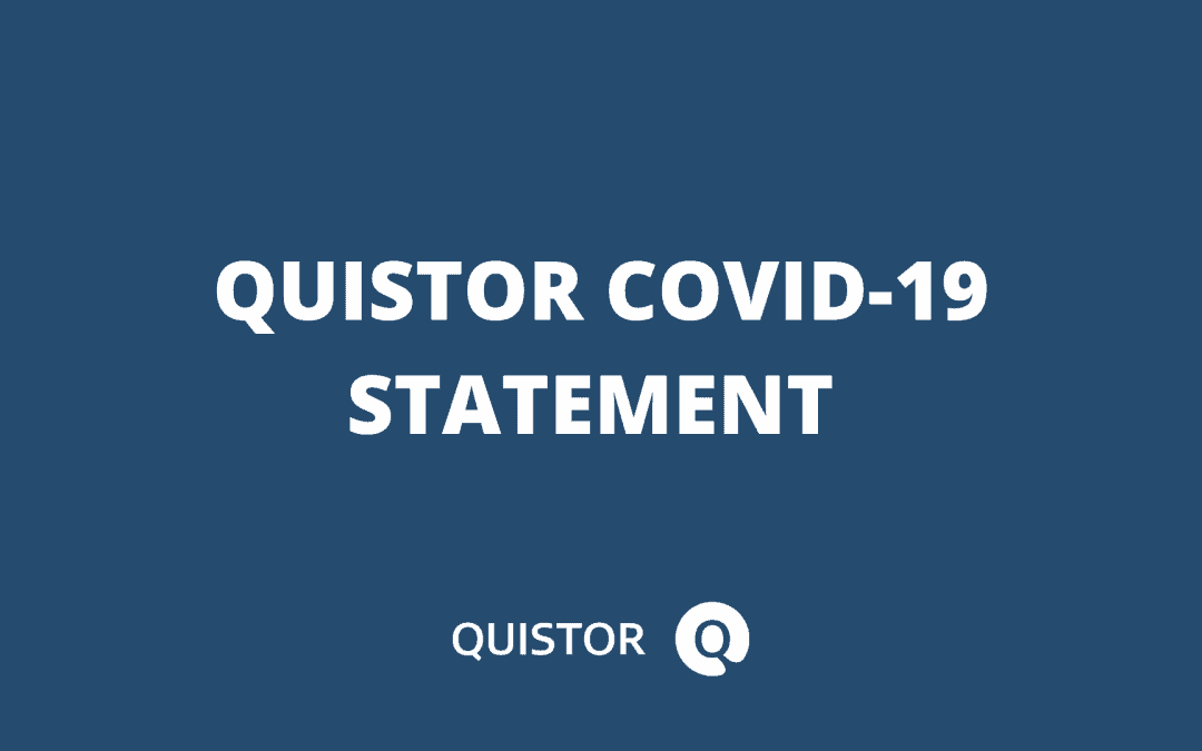 Quistor's Commitment During the COVID-19 Crisis