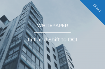Lift and Shift to OCI
