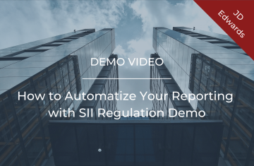How to Automatize Your Reporting with SII Regulation Demo