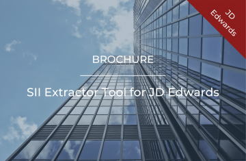SII Extractor Tool for JD Edwards