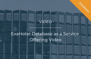 ExaHotel Database as a Service Offering Video
