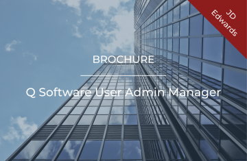 Q Software User Admin Manager