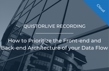 How to prioritize the Front-end and Back-end Architecture of your Data Flow