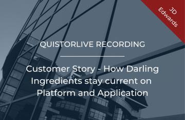 Customer Story How Darling Ingredients stay current on Platform and Application