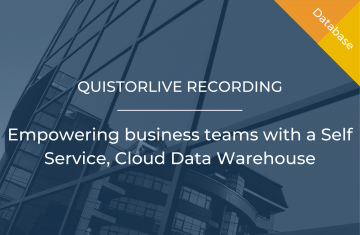 Empowering business teams with a Self Service, Cloud Data Warehouse