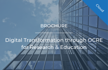 Digital Transformation through OCRE for Research & Education