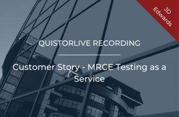 Customer Story - MRCE Testing as a Service
