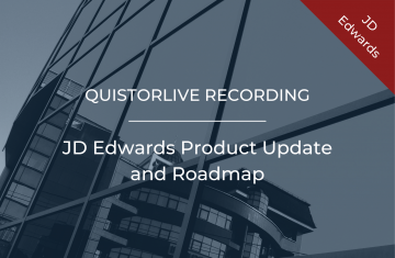 JD Edwards Product Update and Roadmap