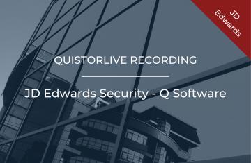 JD Edwards Security - Q Software