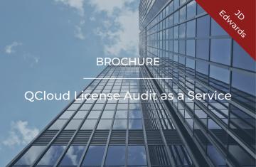 QCloud License Audit as a Service