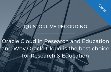 Oracle Cloud in Research and Education and Why Oracle Cloud is the best choice for Research & Education